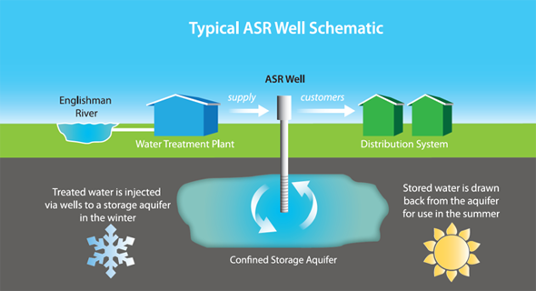 Typical ASR Well Schematic